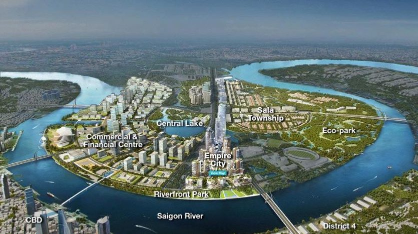 Thu Thiem New city