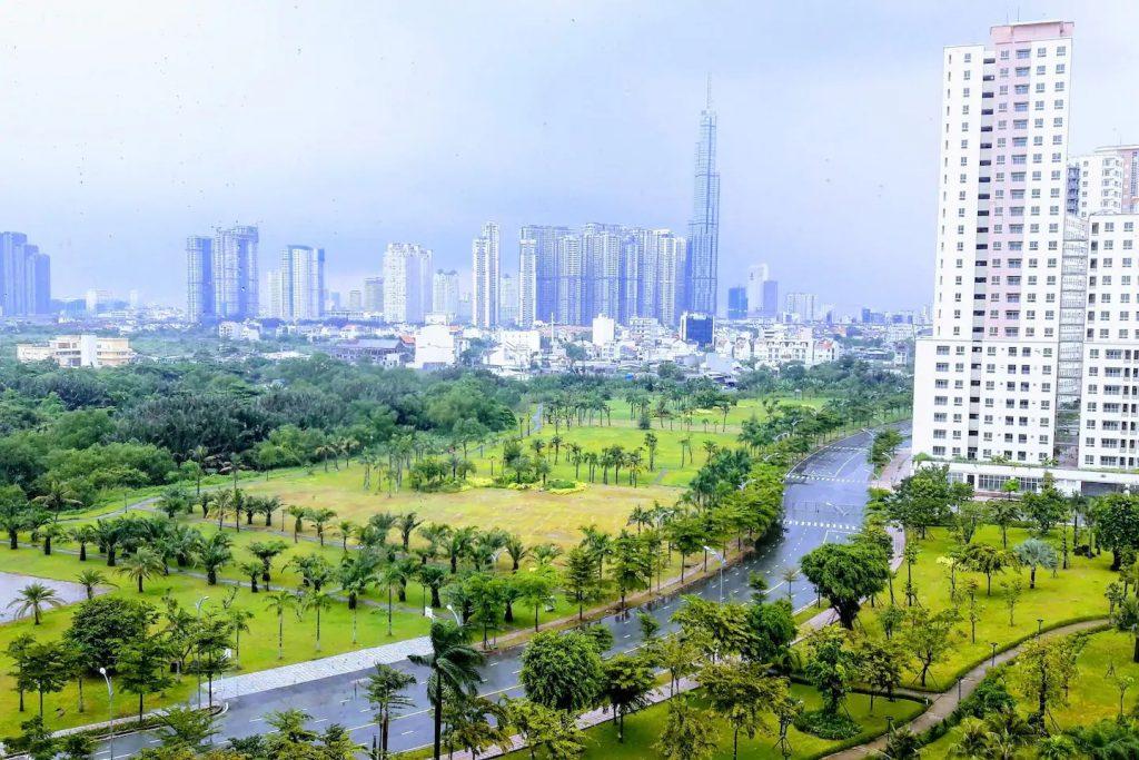 huong view tai new city thu thiem quan 2