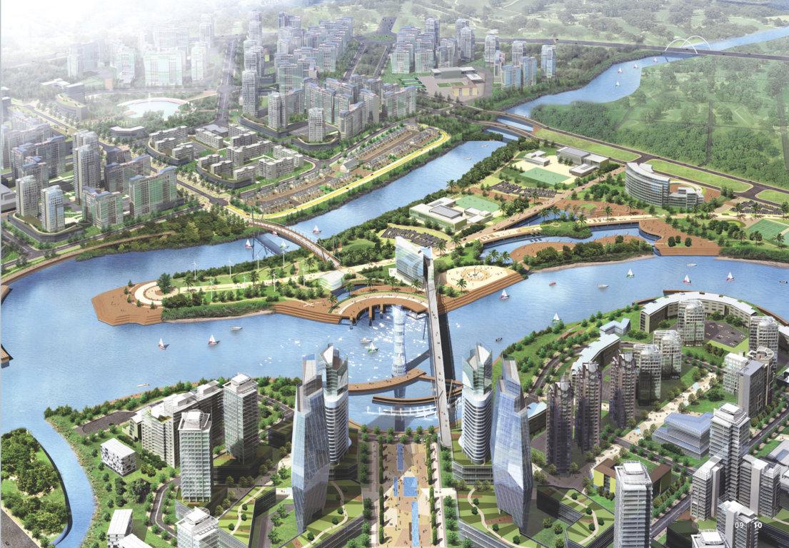 phoi canh The Peninsula gs zeitgeist city nha be