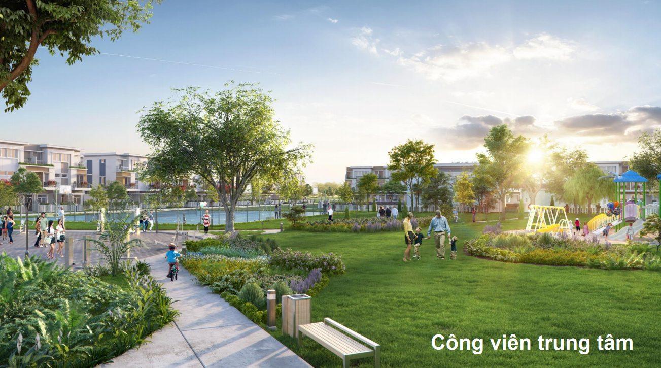 Công viên nội khu Lovera Vista Khang Điền