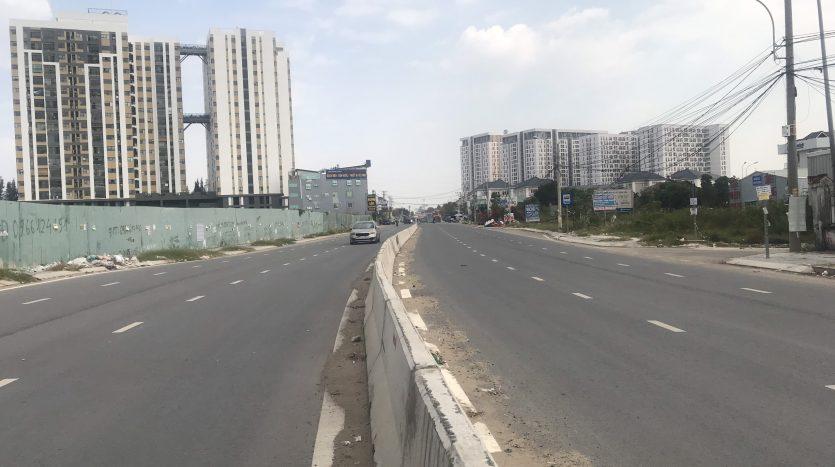 Đường Liên Phường đoạn đi qua phường Phú Hữu quận 9