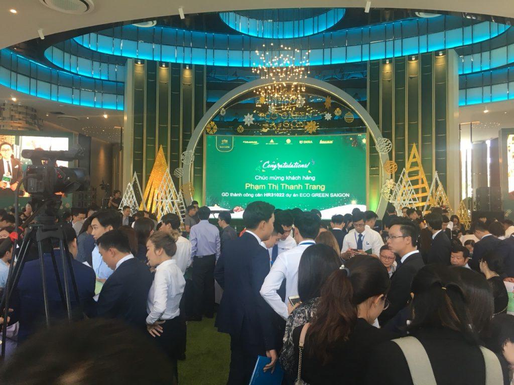 Lễ mở bán tòa hr3 dự án eco green sài gòn