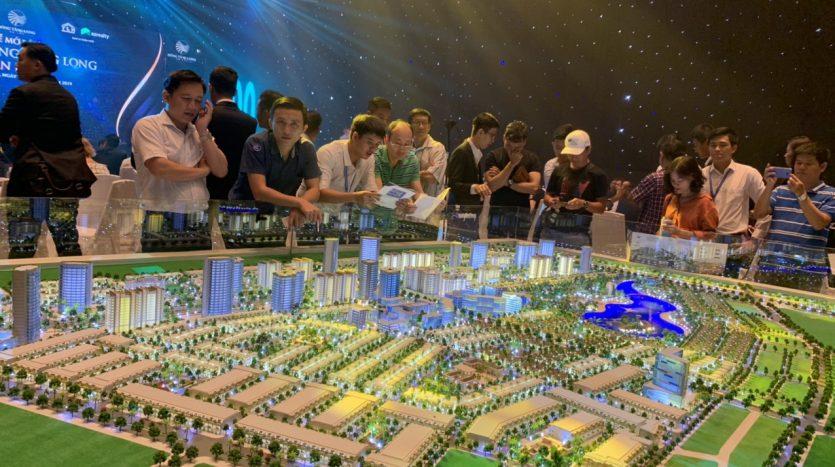 Sa bàn dự án Đông Tăng Long quận 9