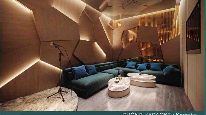 phòng Karaoke căn hộ west gate an gia bình chánh