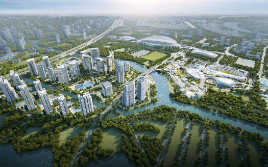 Phối cảnh dự án Saigon Sport City quận 2