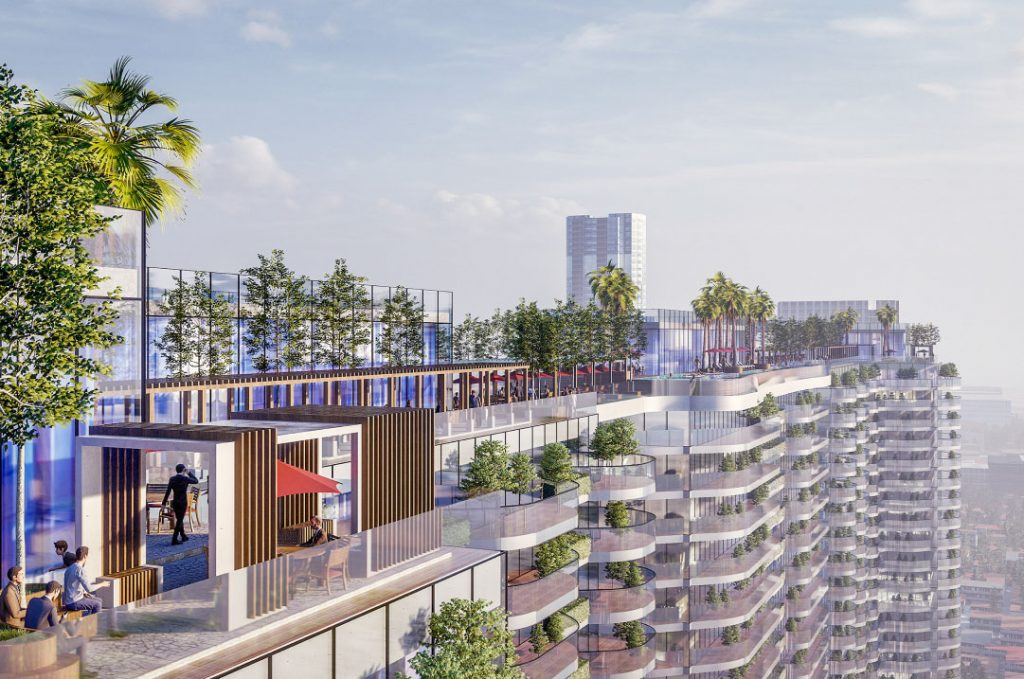 Kiến trúc xanh tại căn hộ sunshsine continental quận 10