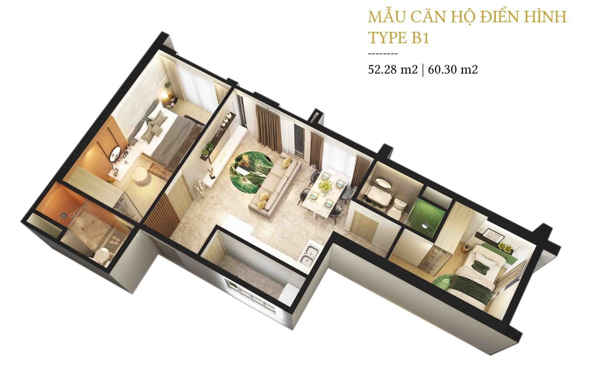 mat bang can ho 60m2 du an citi grand quan 2