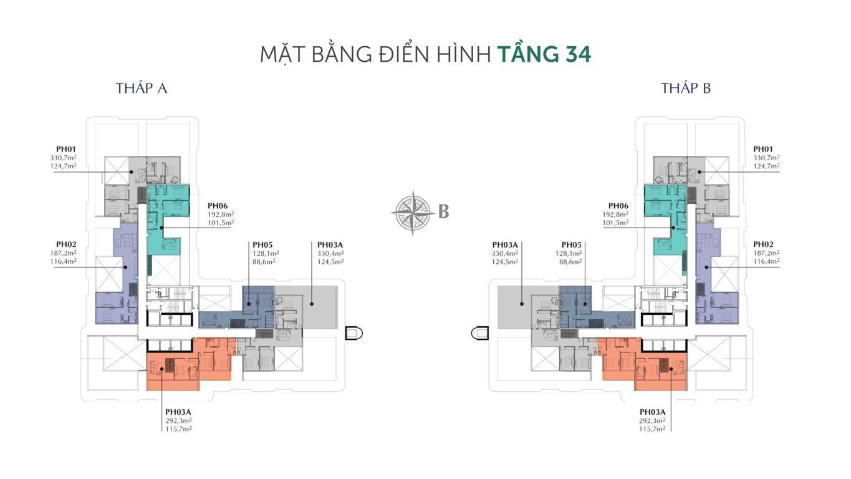 mat bang tang 34 can ho sunshine horizon quan 4
