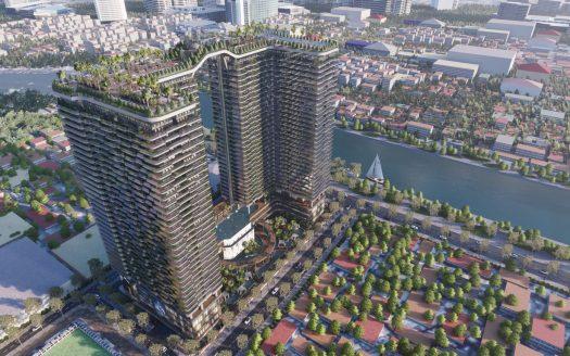 Phối cảnh tổng thể dự án căn hộ sunshine horizon quận 4