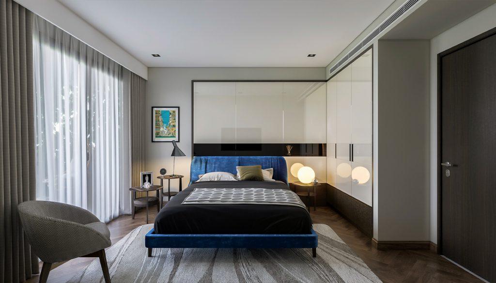 Phòng ngủ sunshine continental quận 10