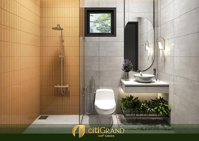 Phòng tắm căn hộ citi grand quận 2