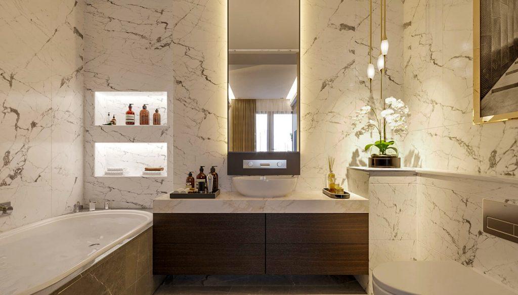 Phòng tắm sunshine continental quận 10