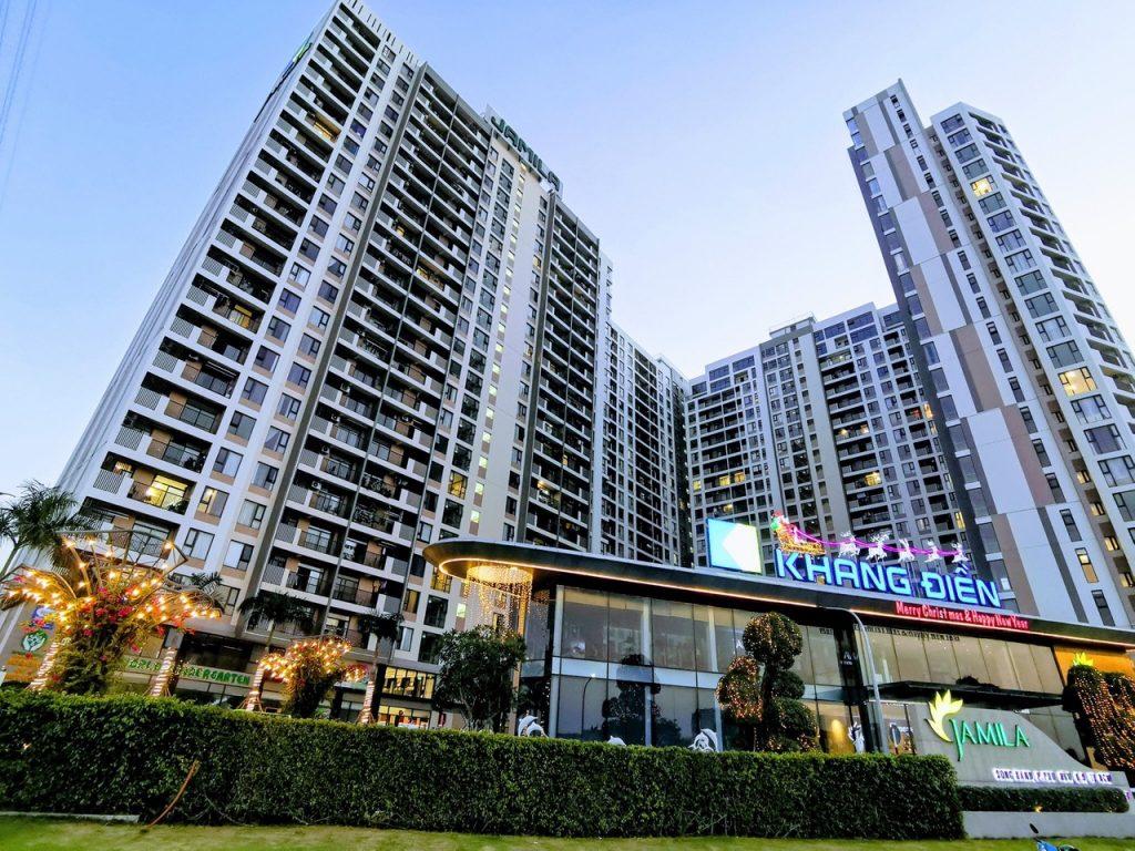 Dự án căn hộ chung cư hạng B Jamila khang điền