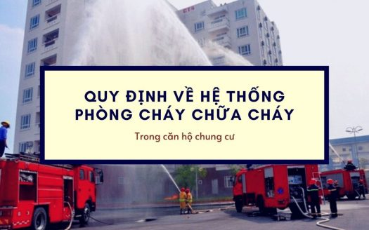 quy dinh ve pccc trong can ho chung cu