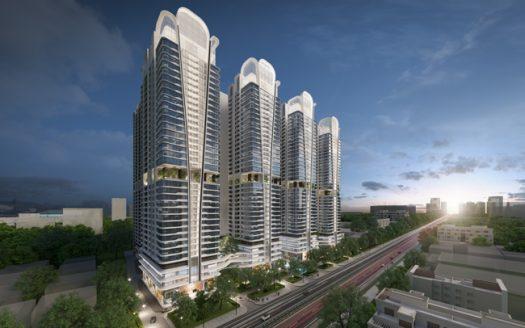 Phối cảnh dự án căn hộ Astral City Bình Dương