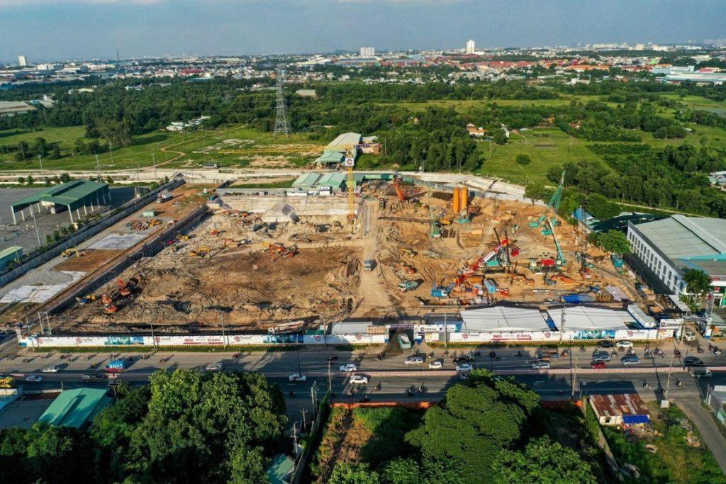 Tiến độ dự án căn hộ astral city bình dương 7 2020