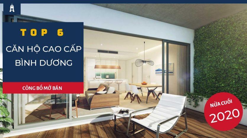 top 6 căn hộ chung cư cao cấp Bình Dương mở bán năm 2020