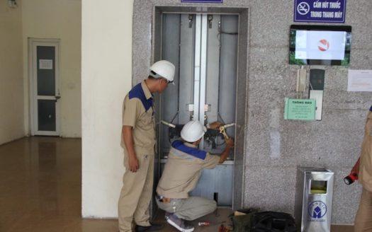 Bảo trì thang máy trong căn hộ chung cư