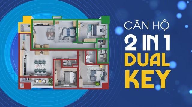 căn hộ dual key tại dự án cosmo city tphcm