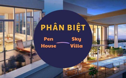 Phân biệt penhouse và sky villas