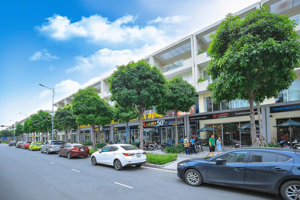 Shophouse liền kề trong khu đô thị sala