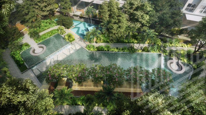 Hồ cảnh quan dự án anderson park bình dương