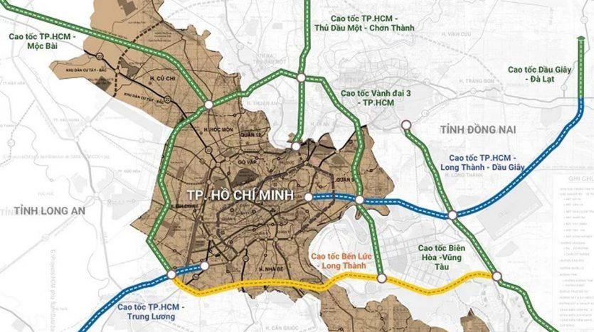 6 tuyến đường cao tốc đi qua tphcm