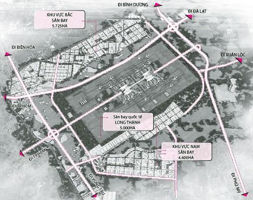 bản vẽ quy hoạch sân bay long thành đồng nai