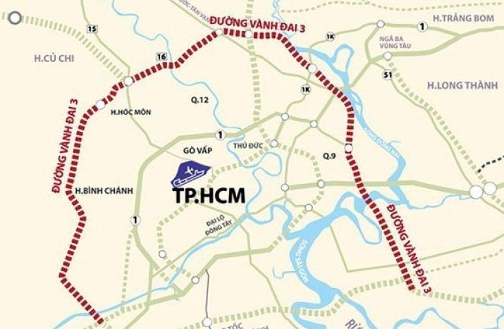 cao tốc vành đai 3 tpchm