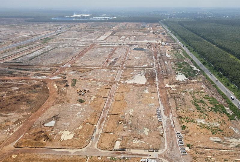 Khu tái định cư sân bay long thành