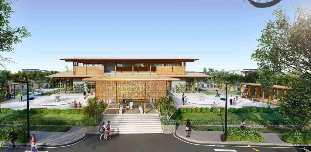 club house thể thao tại dự án takara residence bình dương
