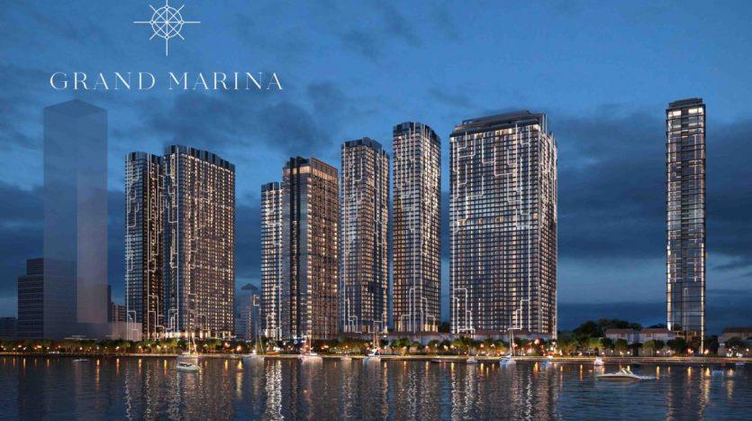 Phối cảnh tổng thể căn hộ grand marina saigon