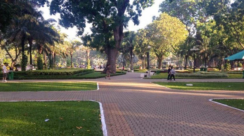 Công viên cây xanh gia định tphcm