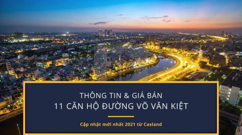 danh sách 11 căn hộ chung cư đường Võ Văn Kiệt tphcm